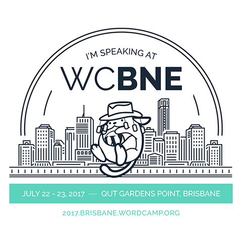 I'm Speaking at WordCamp Brisbane 2017