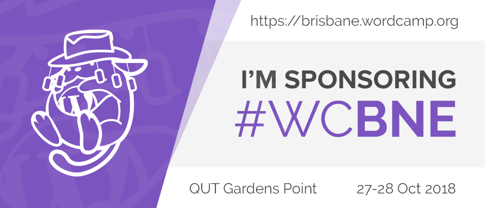 Booking X Sponsors WordCamp Brisbane 2018